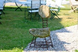 Kunstobjekt entdeckt auf Gut Panker - Schleswig-Holstein 2014
